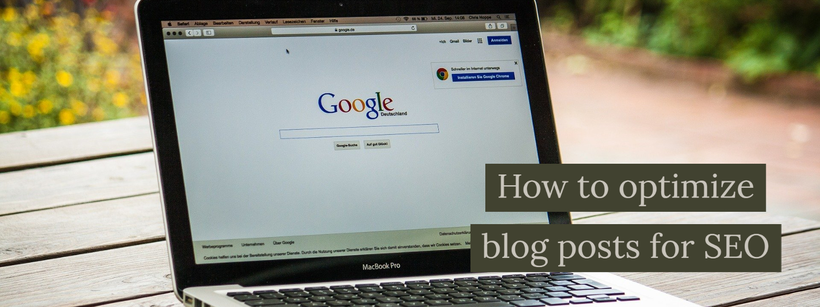 How to optimize blog posts for SEO